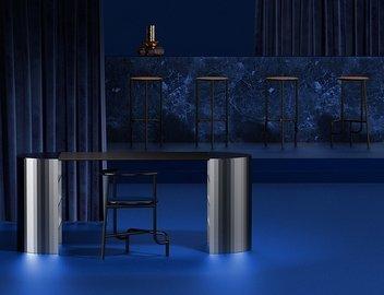 В Париже проходит выставка дизайнерской мебели из металла