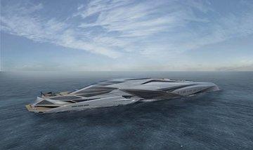 """Фантастическая """"Валькирия"""": дизайнер Чалхун Парк придумал проект необычной  яхты"""