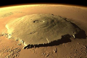 Вулкан Олимп: самая высокая гора в Солнечной системе