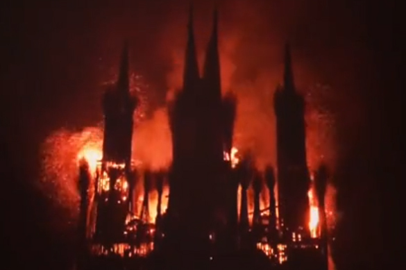 Artist who burnt Catholic church model in Russia puzzled by public reaction. 62026.jpeg