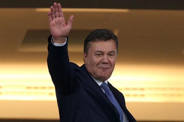 Viktor Yanukovych raves of his misfortune at press conference in Moscow. 62086.jpeg