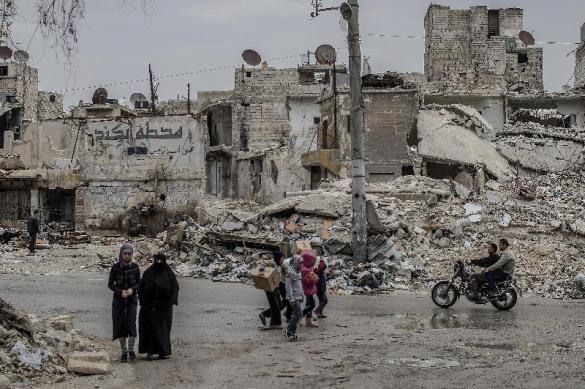 Eastern Ghouta terrorists set ultimatum. 62095.jpeg