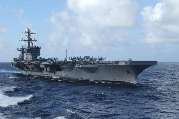 US aircraft carrier approaches Vietnam for the first time since 1975. 62098.jpeg