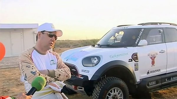 President of Turkmenistan buys luxury rally car for €520,000 in the midst of food crisis. 63136.jpeg