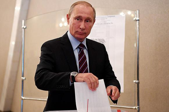 Putin wins election in landslide victory with rivals gaining just 15% and lower. 62167.jpeg
