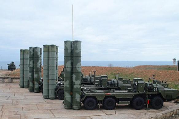 Sanctions do not stop foreign countries from buying Russia's S-400 systems. 63206.jpeg