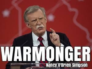 Trump Chooses Warmonger Bolton. 62215.jpeg