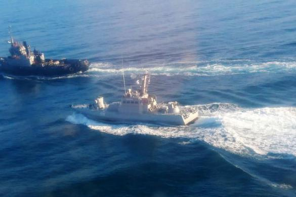 Russia and Ukraine clash in Kerch Strait off Crimea. Ukrainian navy men wounded. 63249.jpeg