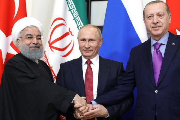 Trump concedes to Russia-Turkey-Iran troika that rules Syria. 62275.jpeg