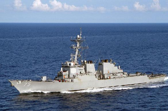 USS Donald Cook brings Tomahawk missiles next to Russian base in Syria's Tartus. 62301.jpeg
