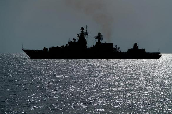 Russia takes its warships from Tartus into open waters of Mediterranean Sea. 62322.jpeg