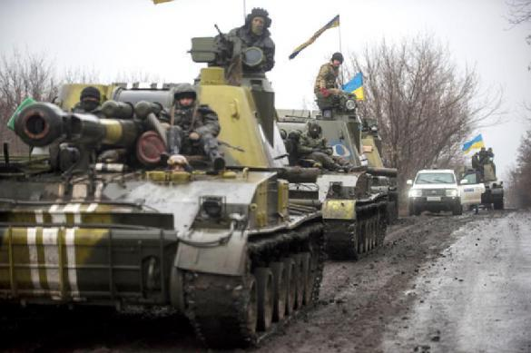 Ukraine loses nearly 4,000 military men killing fellow Ukrainians in Donbass. 62406.jpeg