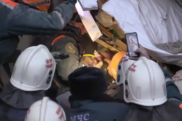 Little boy who survived Magnitogorsk apartment building explosion recovers completely. 63413.jpeg