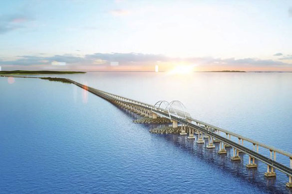 Ukraine wants to own the Crimean Bridge that Russia is building. 62416.jpeg