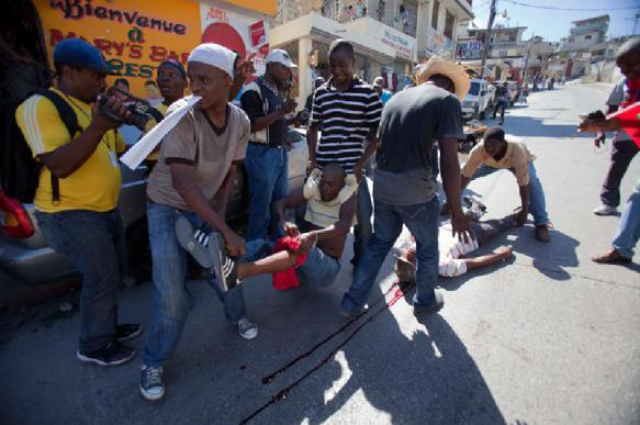 In Haiti, protesters ask Putin to help. 63424.jpeg