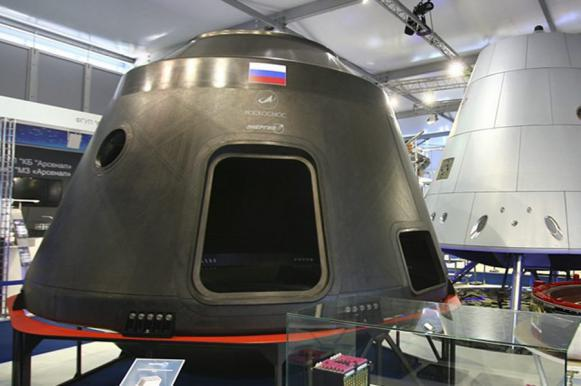 Russia's new spaceship to be renamed as it sounds too girlie for Roscosmos. 63435.jpeg