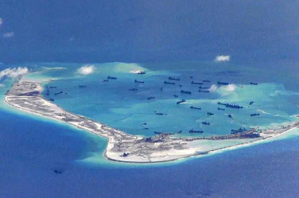 China shows its military might on disputed Spratly Islands. 62436.jpeg