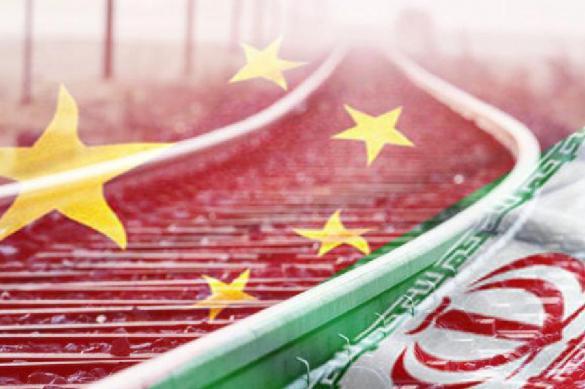 China launches railway communication with Iran. 62467.jpeg