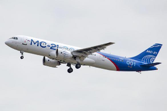 Russia's new passenger airliner MS-21-300 shows good flight test results. 63534.jpeg