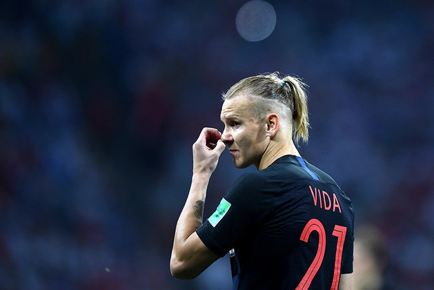 Croatian footballers glorify Ukraine after defeating Russia. Scandal out of nothing?. Domagoj Vida
