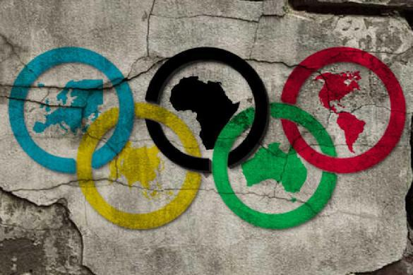 Olympic rings fall apart. 61630.jpeg