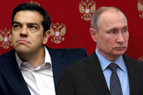 Militant Greek atheist Alexis Tsipras betrays his people, Orthodoxy and Russia. 62644.jpeg