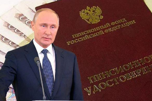 Putin makes first public comment on Russian pension reform. 62646.jpeg