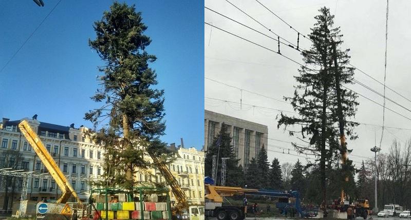 Ugly Christmas tree in Kiev's center shocks Ukrainians. 61656.jpeg