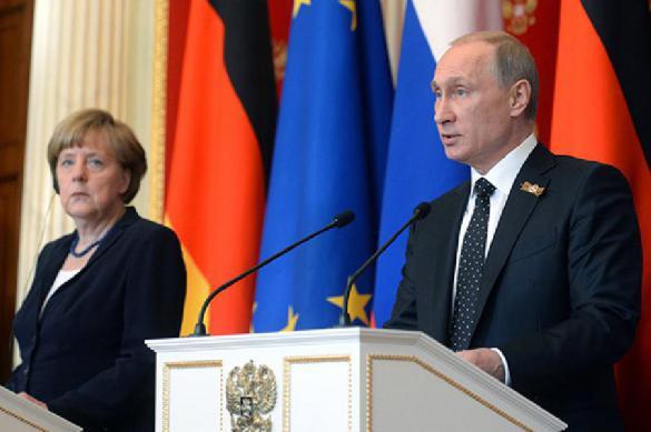 Details of Putin-Merkel surprise meeting unveiled. 62737.jpeg