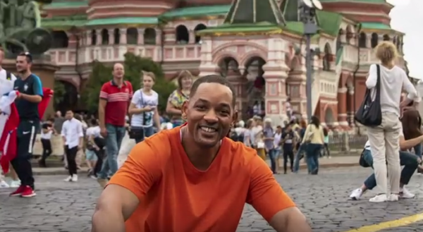 Will Smith tells of his trip to Russia in a video. 62755.png