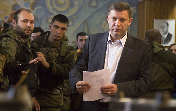 Alexander Zakharchenko, leader of People's Republic of Donetsk, killed in 'Separatist' cafe explosion. 62823.jpeg