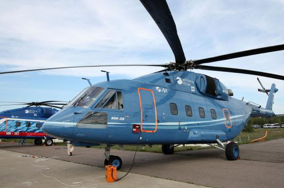 Russian Mi-38 helicopter shows better results with US engines. 63825.jpeg
