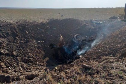 Pilots of Su-25 were killed as aircraft hit the ground. 63832.png
