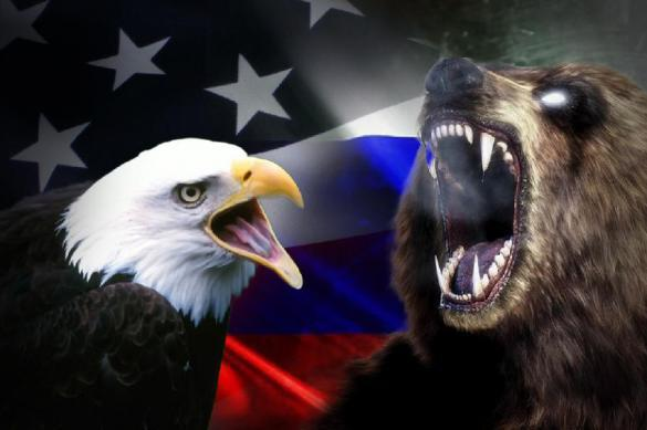 The US eagle can never beat the Russian bear. 62866.jpeg