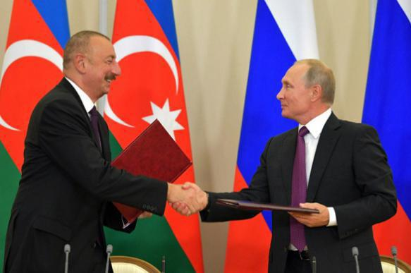 Putin in Azerbaijan: Israel will have to leave Moscow's sphere of influence. 62967.jpeg