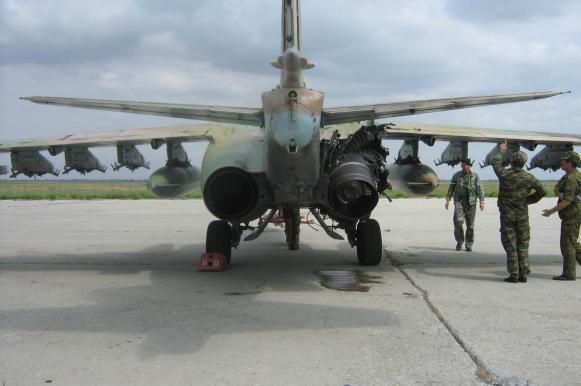 Su-25 assault aircraft made invulnerable to MANPADS after shoot-down accident in Syria. 61968.jpeg