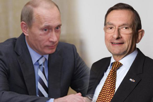 Former Shell CEO admits to spreading lies about meeting with Putin. 61977.jpeg