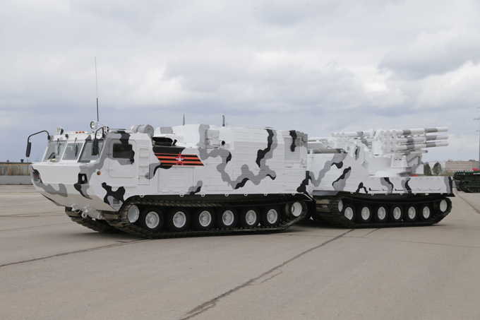 Russia's Arctic military hardware