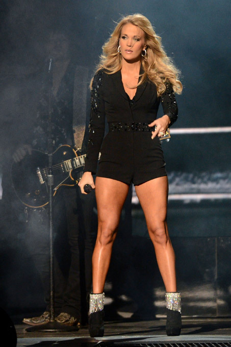 Hottest legs in show business