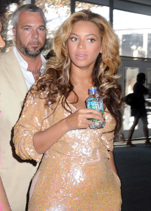 Beyonce glows with her pregnancy