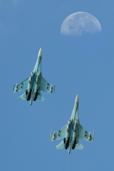 Russian fighter jets in all their beauty