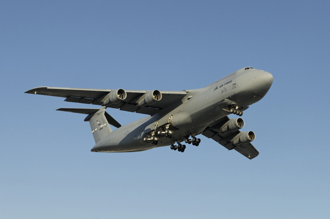 Jumbo jets: Fortresses and belugas can fly too