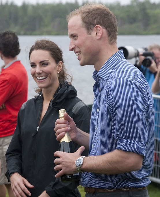 Canadian adventures of William and Kate