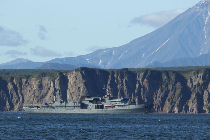 Russia's Pacific Fleet on guard the Far East