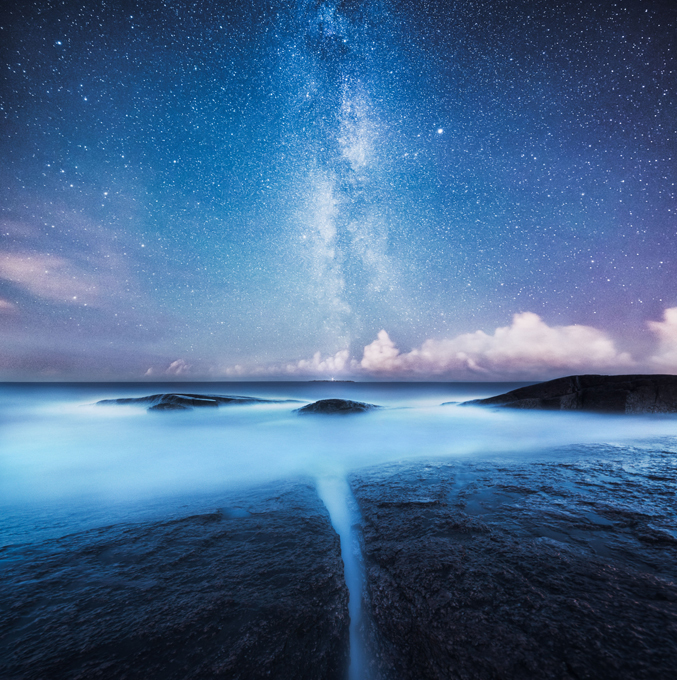 The beauty of Nordic night