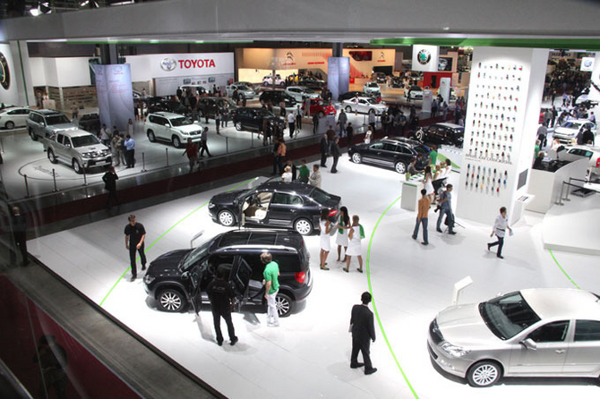 International Motor Show Opens in Moscow