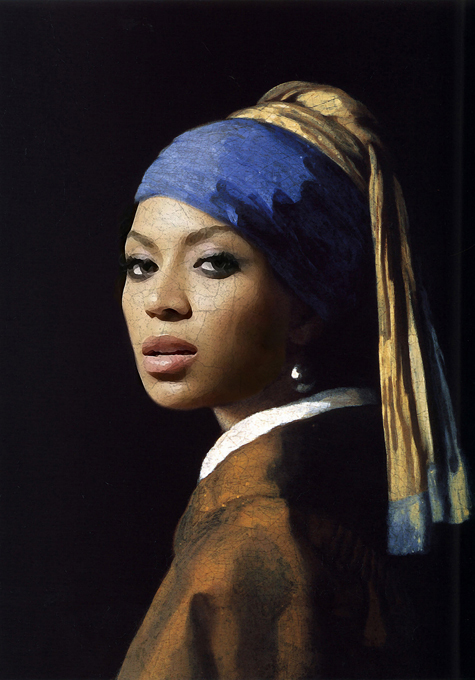 Antique Beyonce fan-made paintings