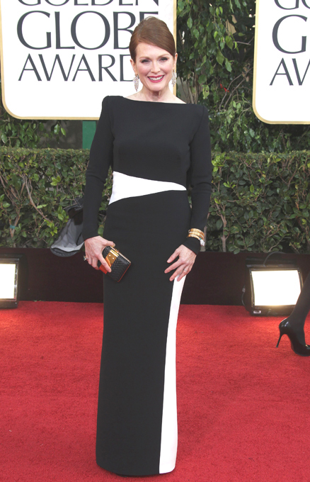 On the red carpet of Golden Globes