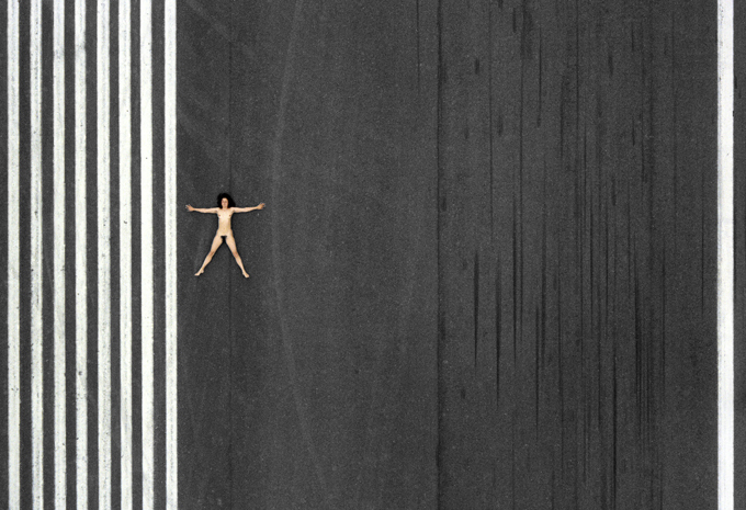 Aerial nude photos by John Crawford