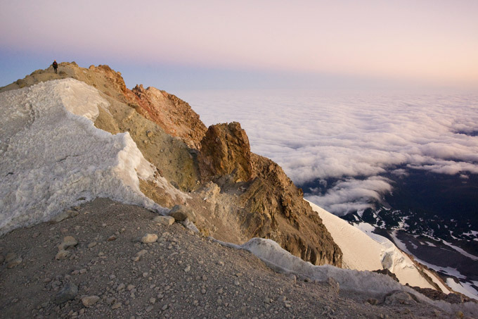 Road to eternity on Mount Hood